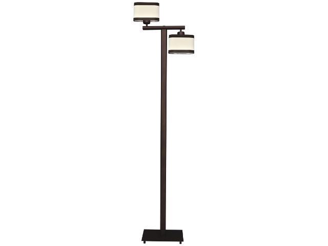 Lampa podłogowa Selene 2xE27 60W K-2168 BRĄZ Kaja