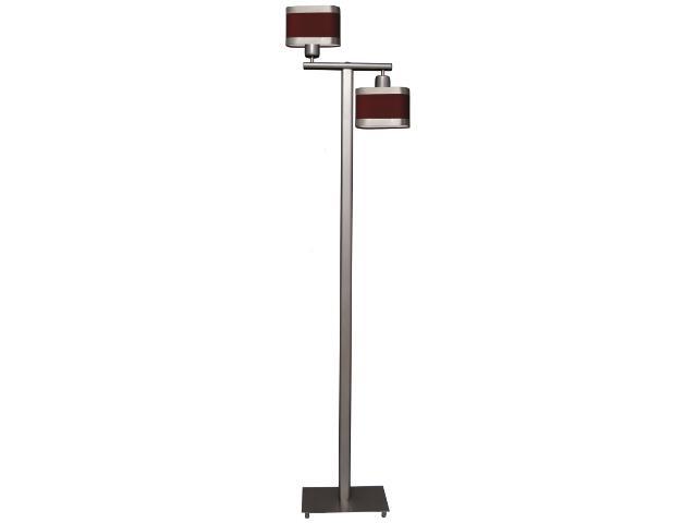 Lampa podłogowa Selene II 2xE27 60W K-2168 CZER Kaja