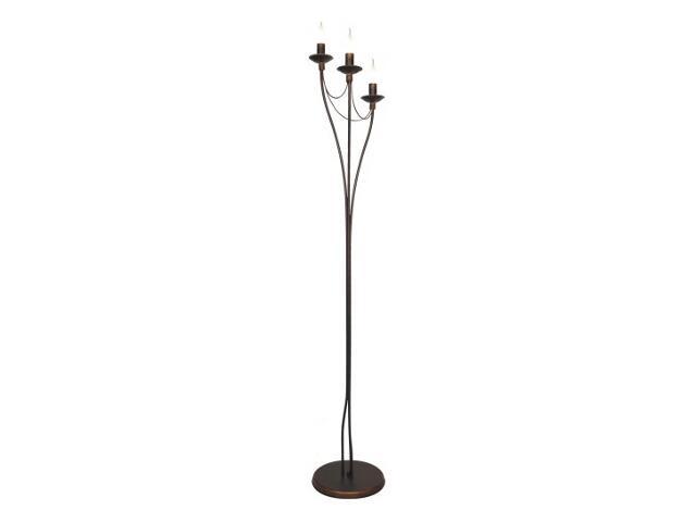 Lampa podłogowa RÓŻA 3xE14 40W 397A Aldex