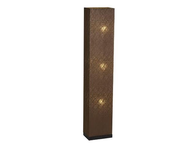 Lampa podłogowa Hague2 3x40W E14 wenge / brązowa Sanneli Design