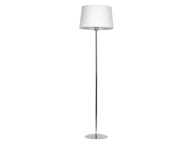 Lampa podłogowa Amsterdam1 1x75W E27 chrom / kremowa Sanneli Design