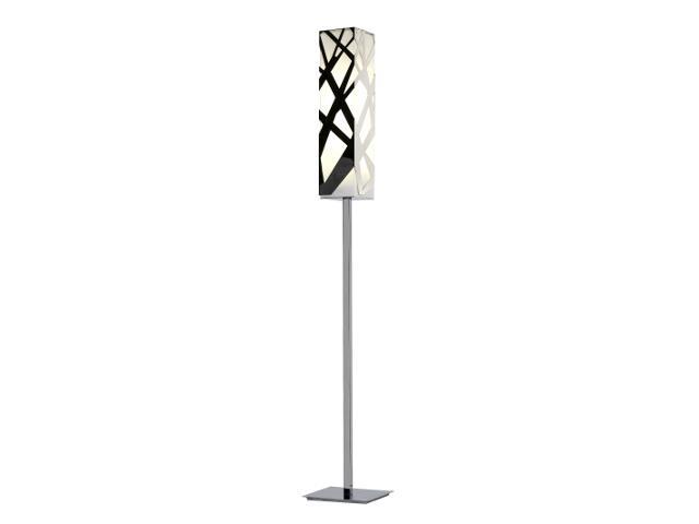 Lampa podłogowa Burgos 2x36W PLL chrom Sanneli Design