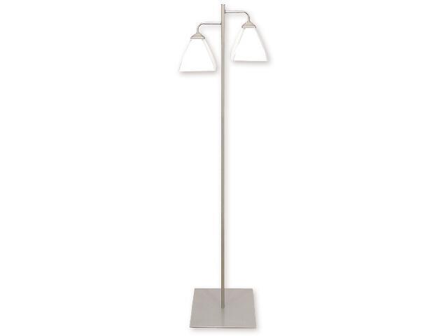 Lampa podłogowa Piksel 2-płomienna satyna 889/L2 SAT Lemir