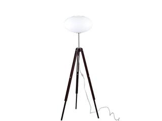 Lampa podłogowa Tripod szklany klosz 1xE27 75W 6020135 Spot-light