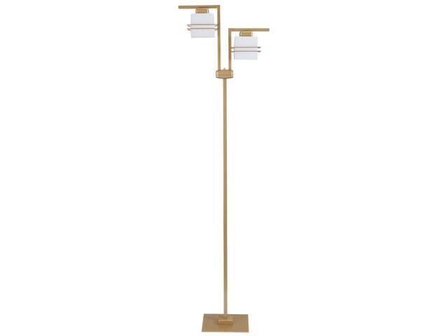 Lampa podłogowa Aldo złota 2xE27 07720 Sigma