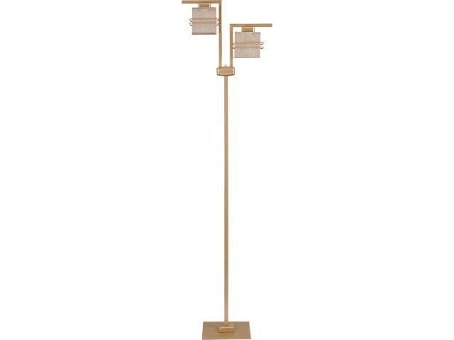 Lampa podłogowa Aldo Trend złota 2xE14 07820 Sigma
