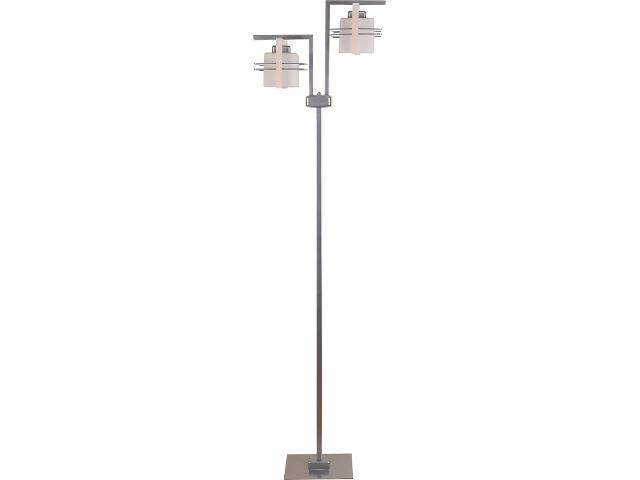 Lampa podłogowa Bruno dąb bielony 2xE27 06913 Sigma