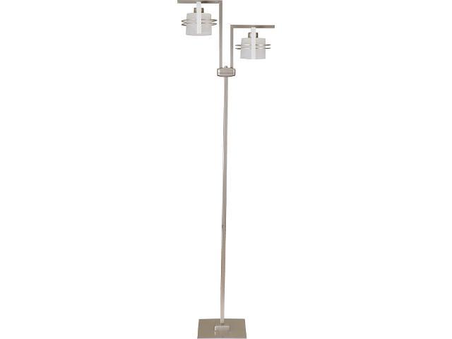 Lampa podłogowa Carlo dąb bielony 2xE27 07013 Sigma