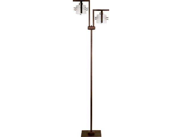 Lampa podłogowa Carlo wenge 2xE27 07014 Sigma