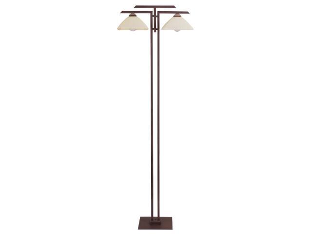 Lampa podłogowa Kent wenge 2xE27 07222 Sigma