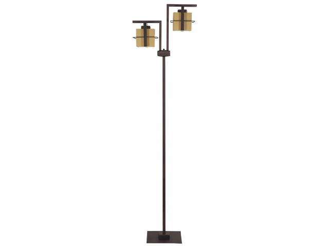 Lampa podłogowa Toffi jasna 2xE14 09013 Sigma