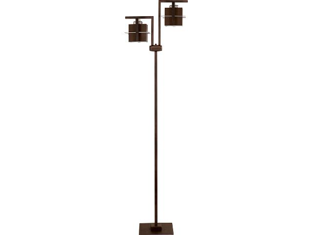 Lampa podłogowa Toffi ciemna 2xE14 09014 Sigma
