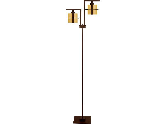 Lampa podłogowa Toffi Due jasna 2xE14 09113 Sigma