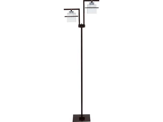 Lampa podłogowa Delta wenge 2xE27 10711 Sigma