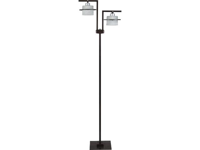 Lampa podłogowa Korso wenge 2xE27 11010 Sigma