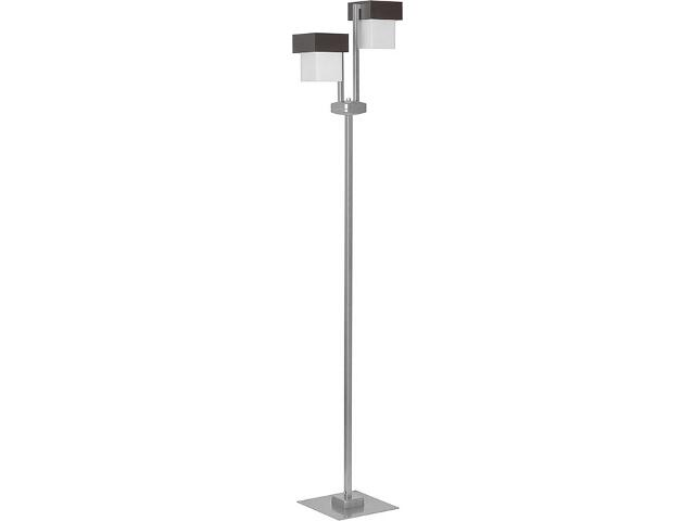 Lampa podłogowa Lotos srebrna 1xE27 13421 Sigma