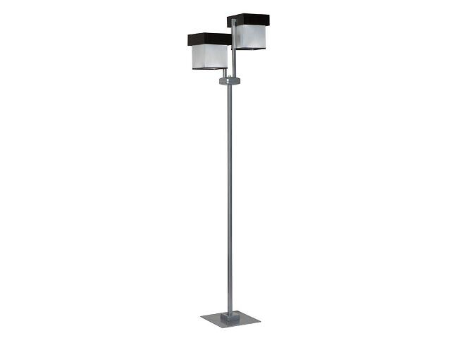 Lampa podłogowa Silver 2xE27 13611 Sigma