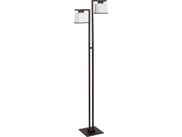 Lampa podłogowa Kosta wenge 2xE27 14511 Sigma