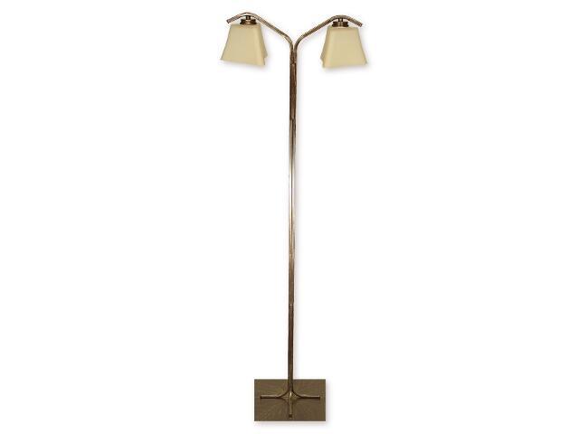 Lampa podłogowa Magna 2-płomienna brązowa O1249/L2 BR Lemir