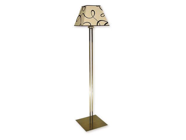 Lampa podłogowa Horus 1-płomienna patyna O1369 PAT Lemir