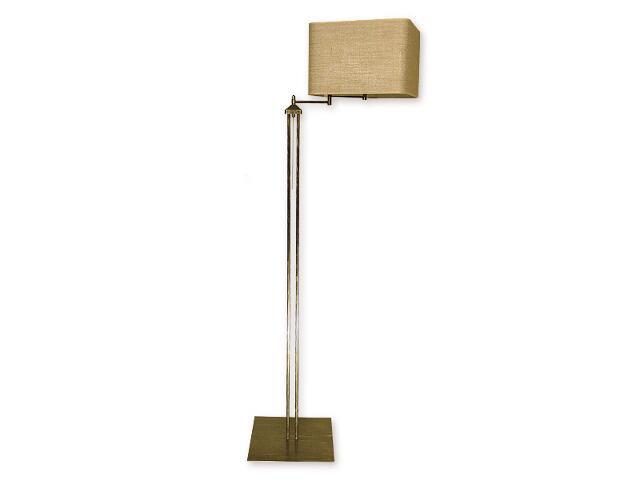 Lampa podłogowa Helion 1-płomienna przegub / oliwka złoto O1379 OLZ Lemir
