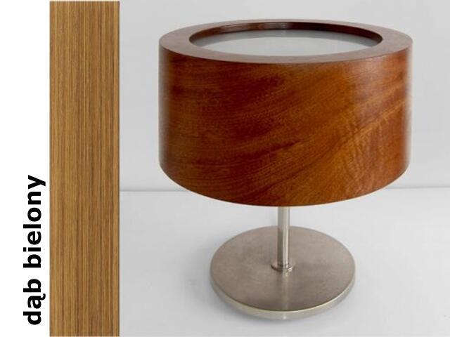 Lampa stołowa LUKOMIKO wysoka dąb bielony 8692A1208 Cleoni