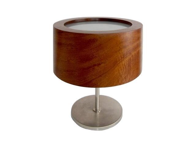 Lampa stołowa LUKOMIKO wysoka orzech ciemny 8692A1209 Cleoni