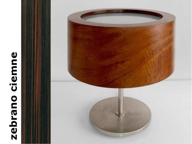 Lampa stołowa LUKOMIKO zebrano ciemne 8692A1206 Cleoni