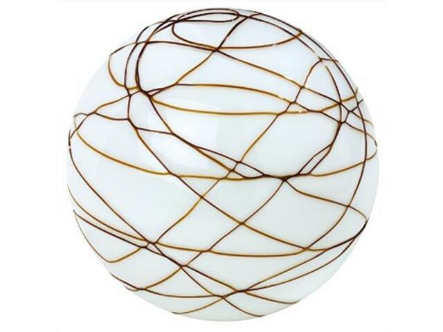 Lampa stołowa Giba max.25W nikiel satyna opal brąz Paulmann