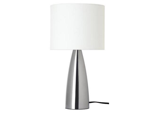 Lampa stołowa Saro na dotyk max. 40W E14 230V żelazo satynowe biały Paulmann
