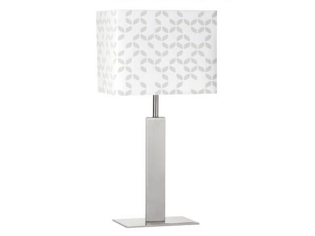 Lampa stołowa Pico max. 40W E14 230V żelazo satynowe biała Paulmann