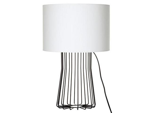 Lampa stołowa Bresca max. 60W E27 230V czarno-biała Paulmann