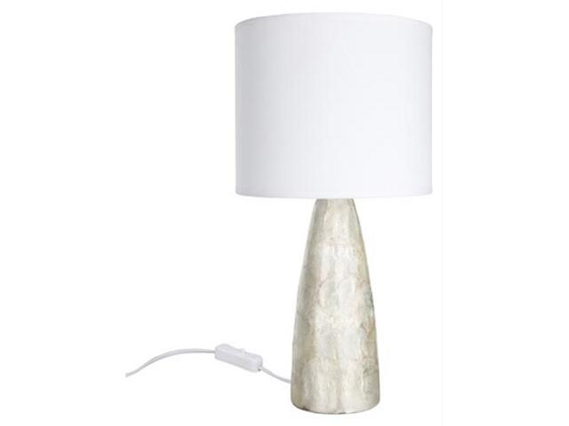 Lampa stołowa Capiz Konisch 370mm max.40W E14 Paulmann