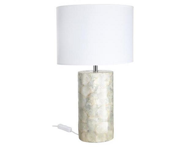 Lampa stołowa Capiz Oval 400x165x270mm max.40W E14 230V Paulmann