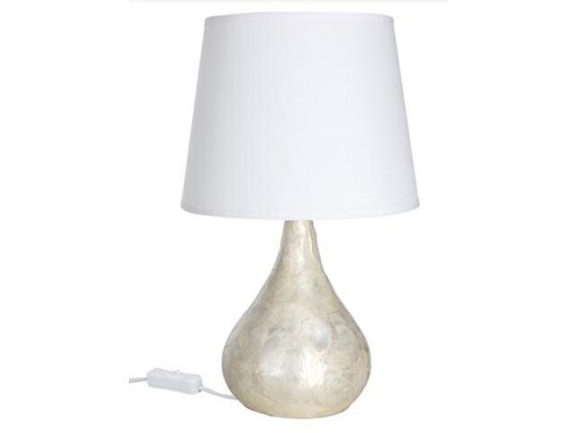 Lampa stołowa Capiz Tropfen E14 max.1x40W 230V 350mm fi160mm Paulmann