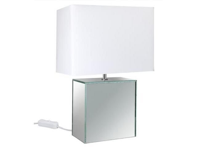 Lampa stołowa Mirror&Fabric biała E14 max.1x40W 230V Paulmann