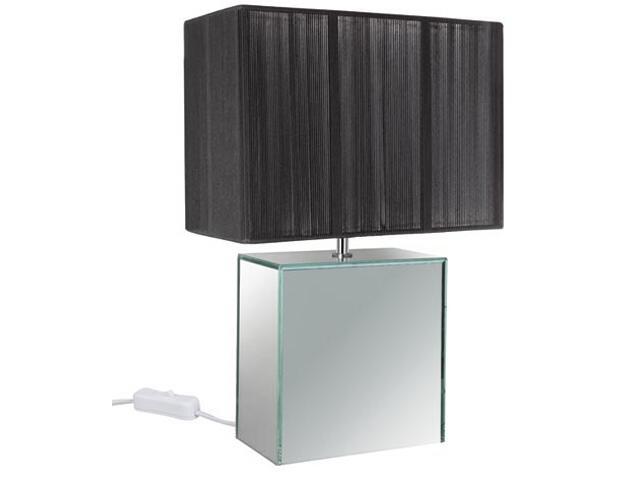 Lampa stołowa Mirror&String czarna E14 max.1x40W Paulmann