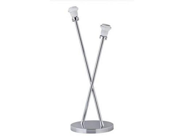 Lampa stołowa 2Easy podwójna 2x11W E27 chrom Paulmann