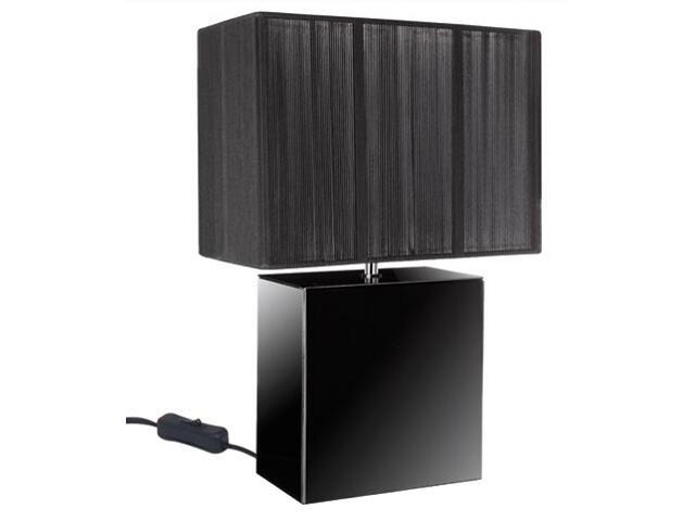 Lampa stołowa Smoked Mirror&String czarna max.40W E14 Paulmann