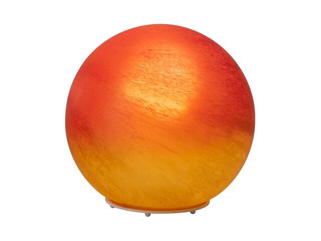 Lampa stołowa Timo 1x60W E27 czerwona, pomarańczowa, alabaster 51847/24 Brilliant