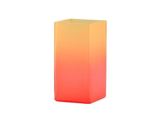 Lampa stołowa DOTI 1xE27 60W pomarańczowa 9905 Alfa