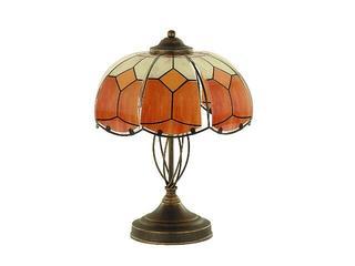 Lampa stołowa WITRAŻ 2xE27 60W 10658 Alfa