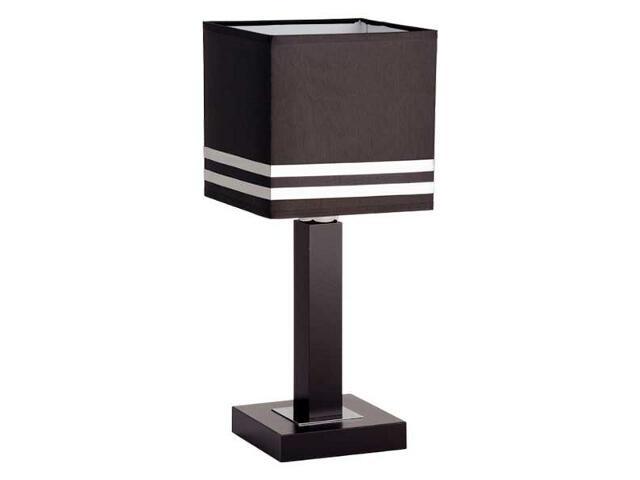 Lampa stołowa Brown E27 60W 16388 Alfa
