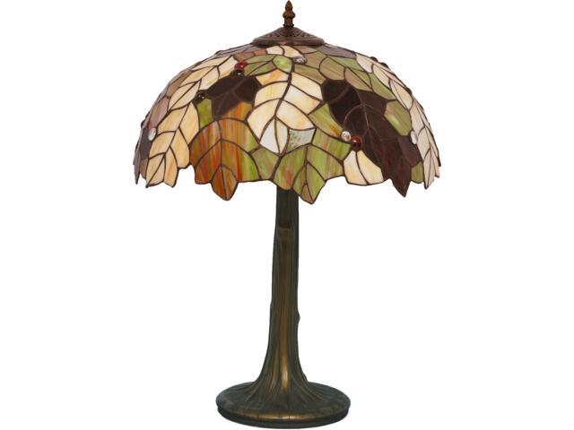 Lampa stołowa witrażowa Carson 1xE27 60W K-G161420 Kaja