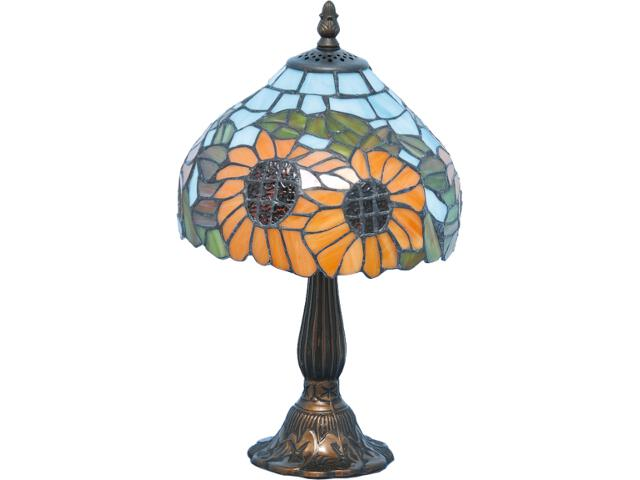 Lampa stołowa witrażowa Bikin 1xE14 40W K-G081556 Kaja