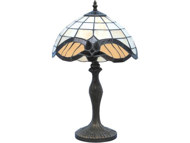 Lampa stołowa witrażowa Witraż 1xE27 60W K-G121122 Kaja