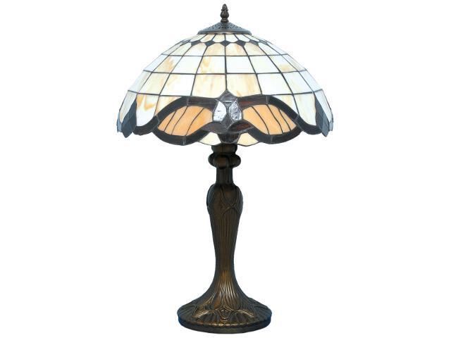 Lampa stołowa witrażowa Witraż 1xE27 60W K-G161122 Kaja