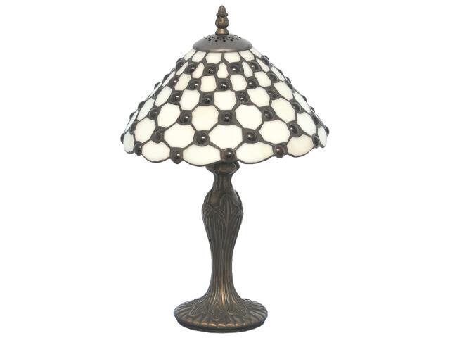 Lampa stołowa witrażowa Nelma 1xE27 60W K-G109419 Kaja
