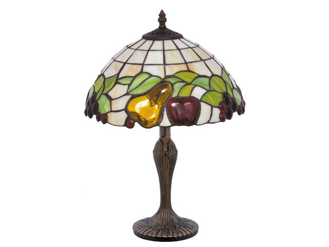 Lampa stołowa witrażowa Fruit 1xE27 60W K-G12550 Kaja