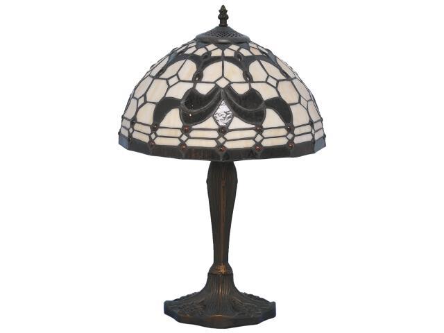 Lampa stołowa witrażowa Nelma 1xE27 60W K-G141671 Kaja